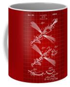 Fish Lure Patent 1933 - Red Coffee Mug