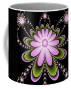 Fractal Floral Decorations Coffee Mug