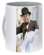 Frustrated Businessman Coffee Mug