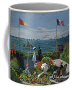 Garden At Sainte-adresse Coffee Mug