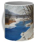 Geese On The Grand River Coffee Mug