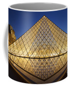 Glass Pyramid Coffee Mug