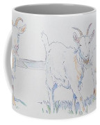 Goat Drawing Coffee Mug