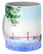Golden Gate Bridge San Francisco Coffee Mug by Irina Sztukowski