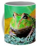 Green Fantasy Frogpacman Frog Coffee Mug