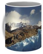 Grey Glacier In Chilean National Park Coffee Mug