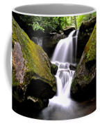 Grotto Falls Coffee Mug by Frozen in Time Fine Art Photography