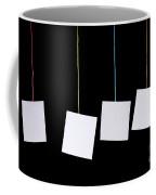 Hanging White Tags Coffee Mug