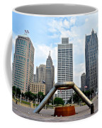 Hart Plaza Detroit Coffee Mug