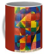 3 Hearts Squared Coffee Mug