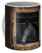 Horse In Stable Coffee Mug