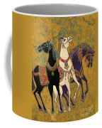 3 Horses Coffee Mug