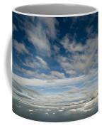 Ice Floes, Spitsbergen Coffee Mug