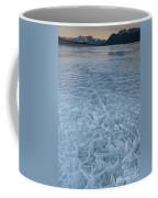 Ice On Abraham Lake Coffee Mug