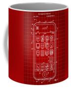 iPhone Patent - Red Coffee Mug