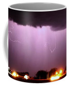 Late Evening Nebraska Thunderstorm Coffee Mug