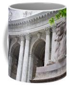 Lion New York Public Library Coffee Mug