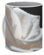Long-stemmed White Rose Coffee Mug