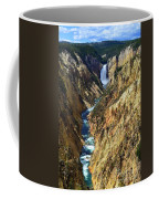 Lower Yellowstone Falls Coffee Mug
