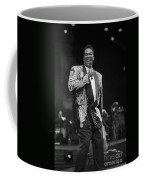 Singer Luther Vandross Coffee Mug