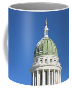 Maine State Capitol Building In Augusta Coffee Mug by Keith Webber Jr
