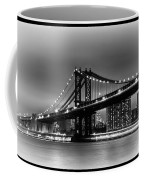 Manhattan Bridge New York City Coffee Mug