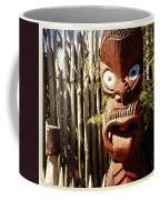Maori Carving Coffee Mug by Les Cunliffe