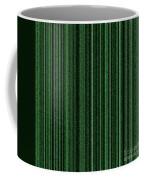 Matrix Green Coffee Mug