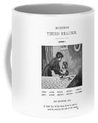Mcguffey's Reader, 1879 Coffee Mug