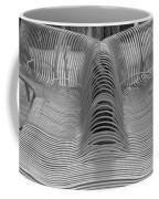 Metal Strips In Black And White Coffee Mug
