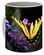 Monarch On Mountain Laurel Coffee Mug