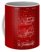 Mouse Trap Patent - Red Coffee Mug