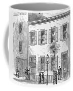 New York: Dispensary, 1868 Coffee Mug