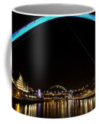 Newcastle Quayside And Sage Gateshead Coffee Mug