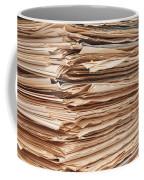 Newspaper Stack Coffee Mug