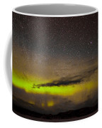 Northern Lights And Myriad Of Stars Coffee Mug