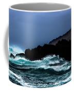 Ocean Foam In Fury Coffee Mug
