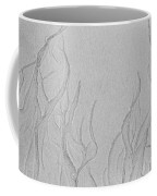 Ocean Sand Art Below Coffee Mug