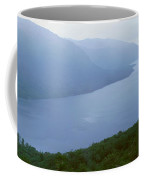 Panoramic View Of Ushuaia, Tierra Del Coffee Mug