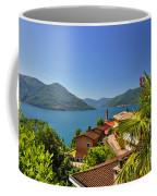 Panoramic View Over An Alpine Lake Coffee Mug