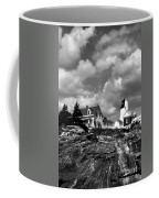Pemaquid Point Lighthouse Coffee Mug by Skip Willits
