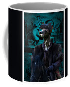 Peruvian Hairless Dog Art Canvas Print Coffee Mug