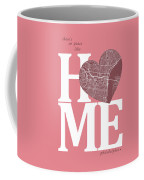 Philadelphia Street Map Home Heart - Philadelphia Pennsylvania R Coffee Mug