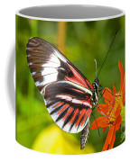 Piano Key Butterfly Coffee Mug
