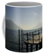 Pier In Backlight Coffee Mug