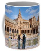 Plaza De Espana Pavilion In Seville Coffee Mug