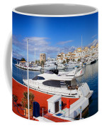 Puerto Banus Marina In Spain Coffee Mug