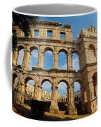 Pula, Istria County, Croatia. The Roman Coffee Mug