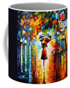 Rain Princess Coffee Mug by Leonid Afremov