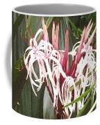 Queen Emma Crinum Lilies Coffee Mug